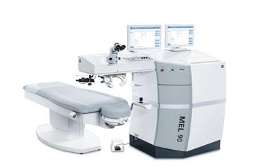 laser ad eccimeri per la chirurgia refrattiva